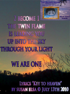 Twin Flame Key Archangel Michael Jackson July 2010 by Susan Elsa © Information on from Heaven channeled Pop Music